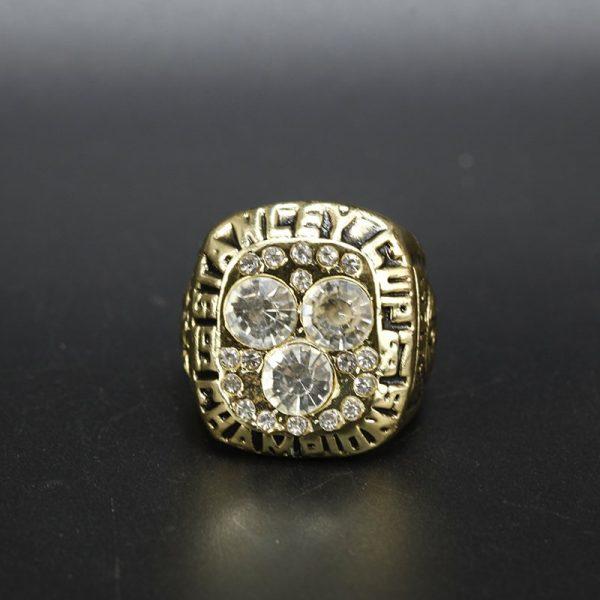 NHL Edmonton Oilers  Stanley Cup Championship Ring 1987 Wayne Gretzky