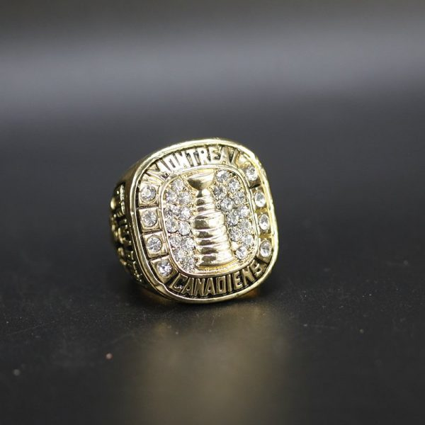 NHL Montreal Canadiens  Stanley Cup Championship Ring 1960 Jean Beliveau