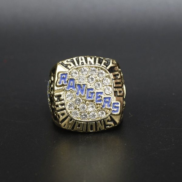 NHL New York Rangers  Stanley Cup Championship Ring 1994 Brian Leetch