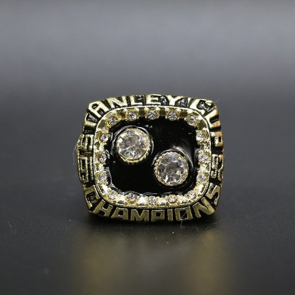 NHL Pittsburgh Penguins  Stanley Cup Championship Ring 1992 Bryan Trottier