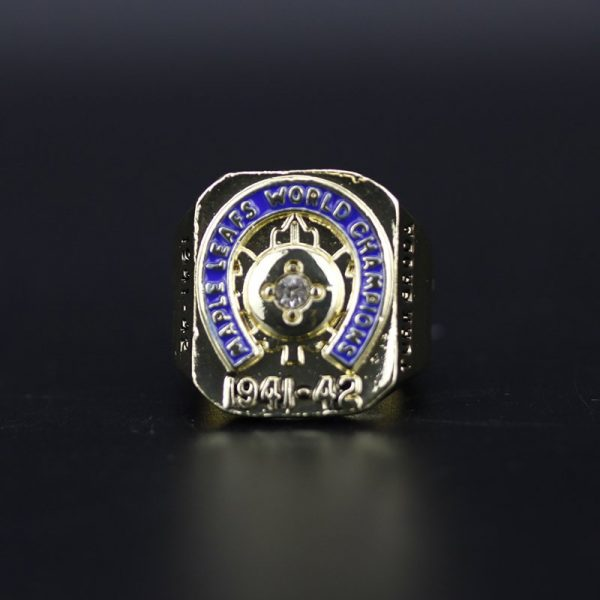 NHL Toronto Maple Leafs  Stanley Cup Championship Ring 1942 Turk Broda