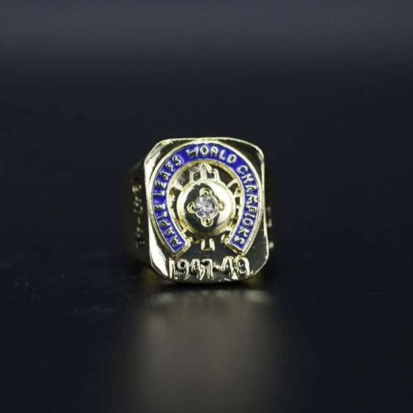 NHL Toronto Maple Leafs  Stanley Cup Championship Ring 1948 Syl Apps