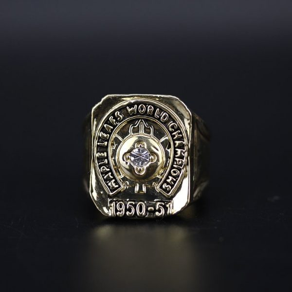 NHL Toronto Maple Leafs  Stanley Cup Championship Ring 1951