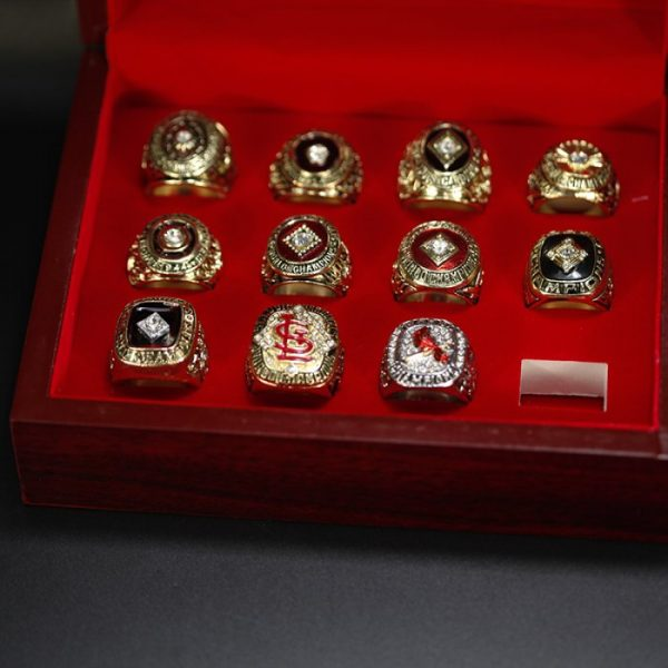 11 Set Championship Rings MLB St Louis Cardinals 1926-2011