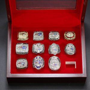 11 Set Championship Rings NFL New England Patriots 1985-2018