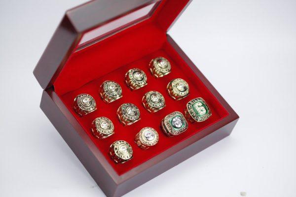 12 Set Championship Rings NBA Boston Celtics 1957-1969