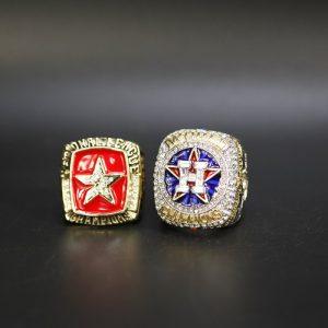 2 Set Championship Rings MLB Houston Astros 2005-2017