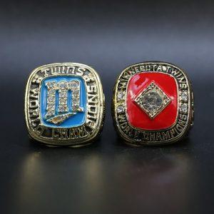 2 Set Championship Rings MLB Minnesota Twin 1987-1991