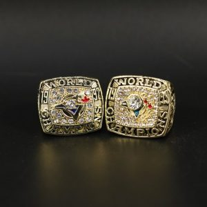 2 Set Championship Rings MLB Toronto Blue Jays 1992-1993