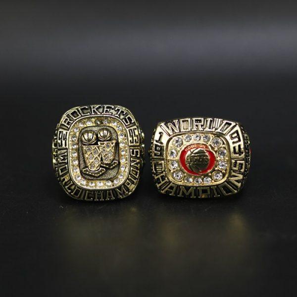 2 Set Championship Rings NBA Hosuton Rockets 1994-1995