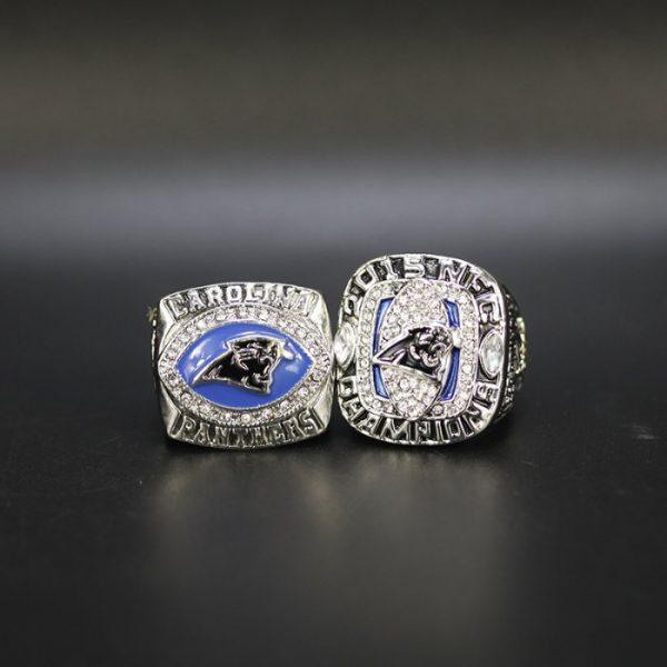 2 Set Championship Rings NFL Carolina Panthers 2003-2015