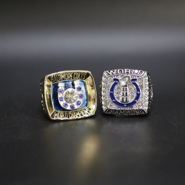 2 Set Championship Rings NFL Indianapolis Colts 1970-2006