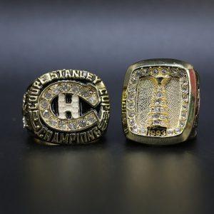 2 Set Championship Rings NHL Monstreal Canadiens 1986-1993