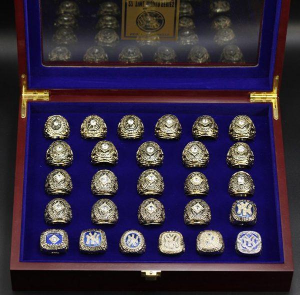 27 Set Championship Rings MLB New York Yankees 1927-2009