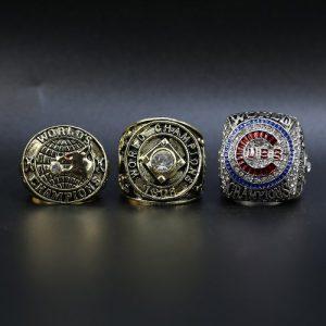 3 Set Championship Rings MLB Chicago Cubs 1907-2016