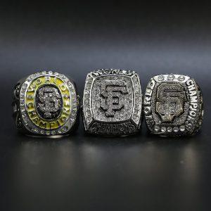 3 Set Championship Rings MLB San Francisco Giants 2010-2014
