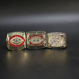 3 Set Championship Rings NFL Washington Redskins 1982-1991