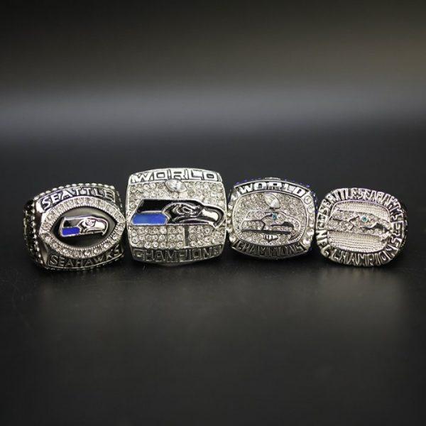4 Set Championship Rings NFL Seattle Seahawks 2005-2014