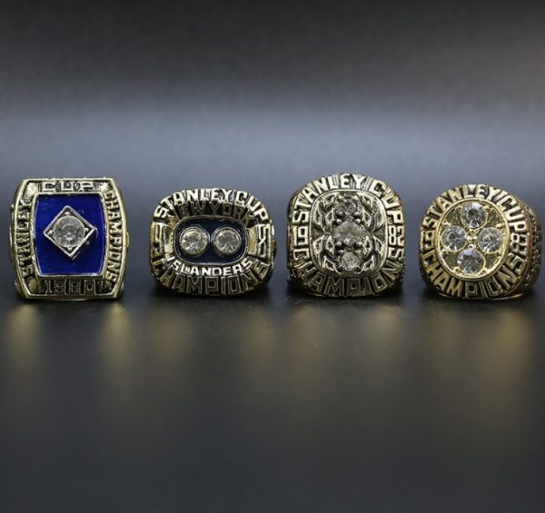 4 Set Championship Rings NHL New York Islanders 1980-1983