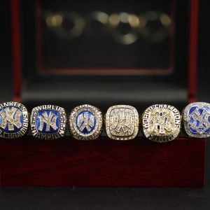 6 Set Championship Rings MLB New York Yankees 1977-2009