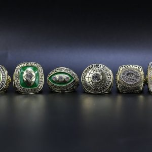6 Set Championship Rings NFL Green Bay packers 1961-2010