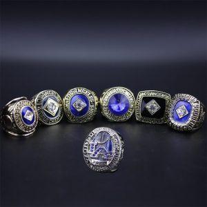 7 Set Championship Rings MLB Los Angeles Dodgers 1955-2020 Cody Bellinger