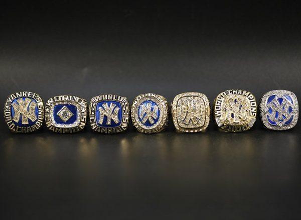 7 Set Championship Rings MLB New York Yankees 1977-2009
