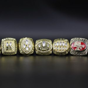 7 Set Championship Rings NFL San Francisco 49ers 1981-2019
