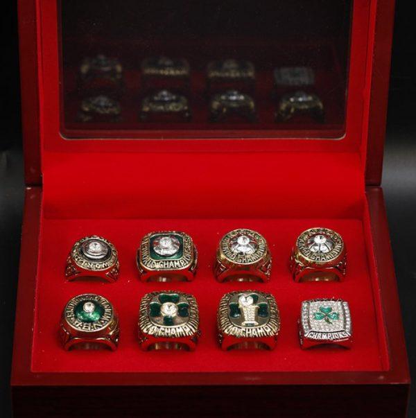8 Set Championship Rings NBA Boston Celtics 1968-2008