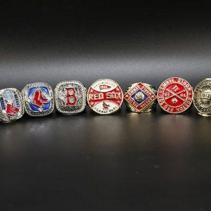 9 Set Championship Rings MLB Boston Red Socks 1903-2018