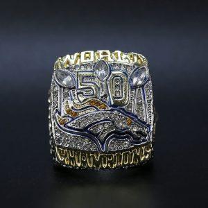 NFL Championship Ring Denver Broncos 2015 Von Miller