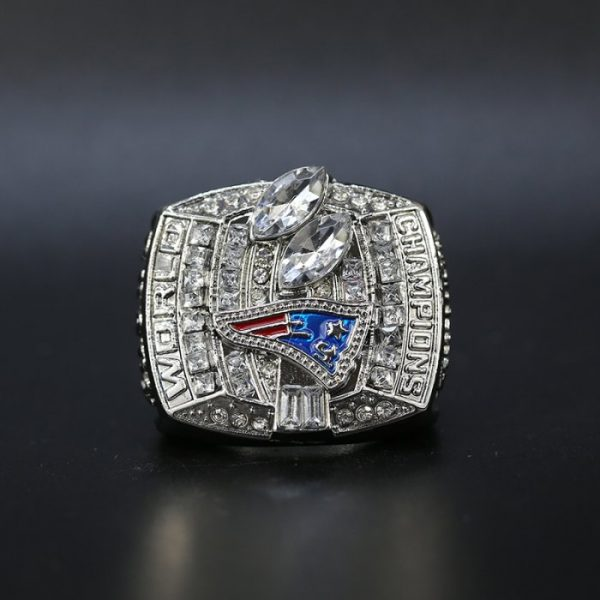 NFL Championship Ring New England Patriots 2003 Tom Brady