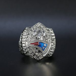NFL Championship Ring New England Patriots 2004 Tom Brady