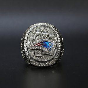 NFL Championship Ring New England Patriots 2014 Tom Brady