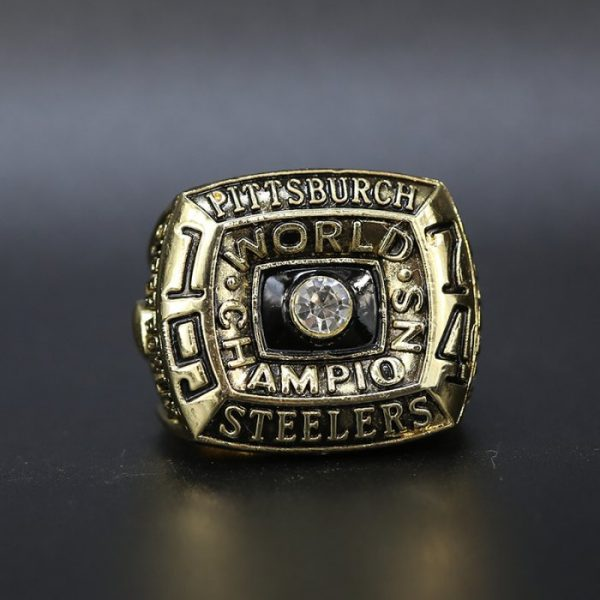 NFL Championship Ring Pittsburgh Steelers 1974