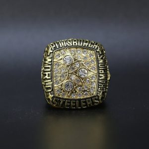 NFL Championship Ring Pittsburgh Steelers 1978 Terry Bradshaw