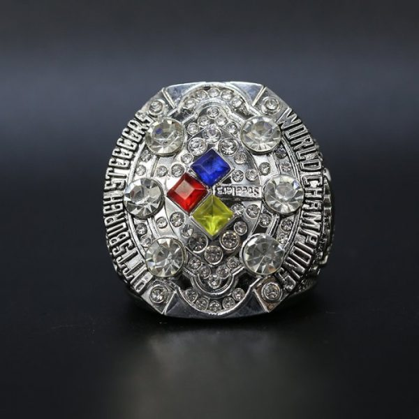 NFL Championship Ring Pittsburgh Steelers 2008 Ben Roethlisberger