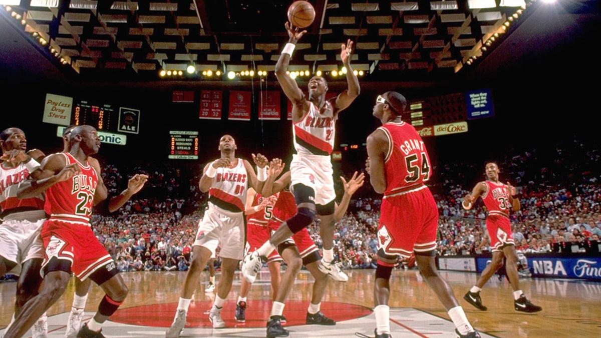 1992 NBA Finals: Bulls Vs Blazers