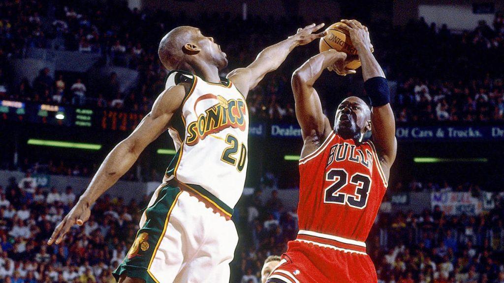 1996 NBA Finals : Bulls Vs Sonics