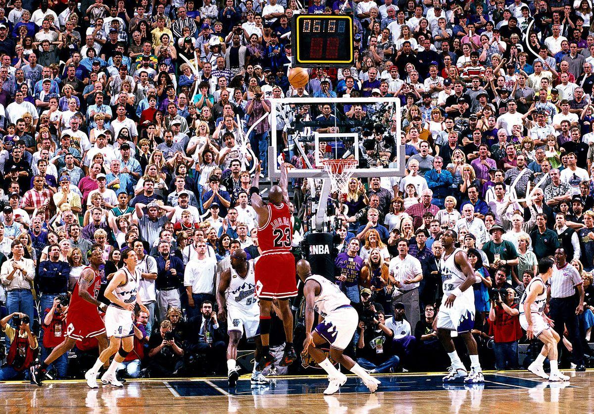 1998 NBA Finals: Bulls Vs Jazz