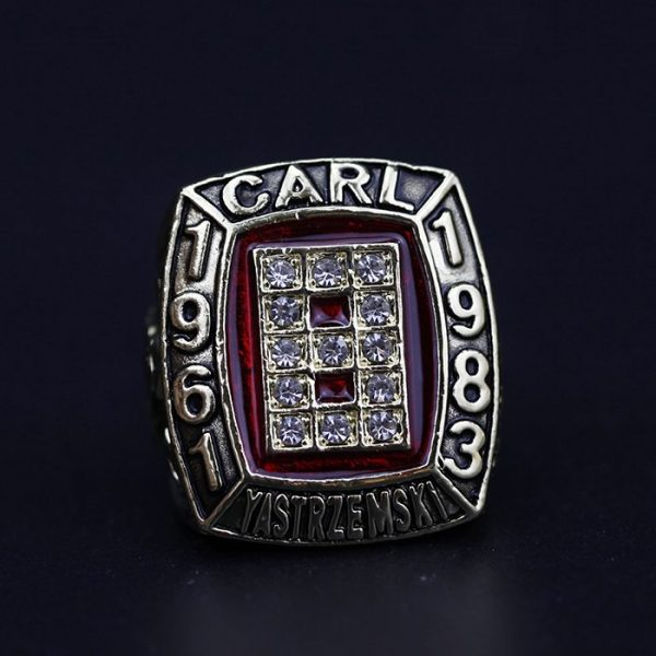 MLB Championship Ring Hall Of Fame Carl Yasterzemski 1961-1983