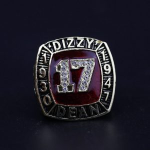 MLB Championship Ring Hall Of Fame Dizzy Dean 1930-1947