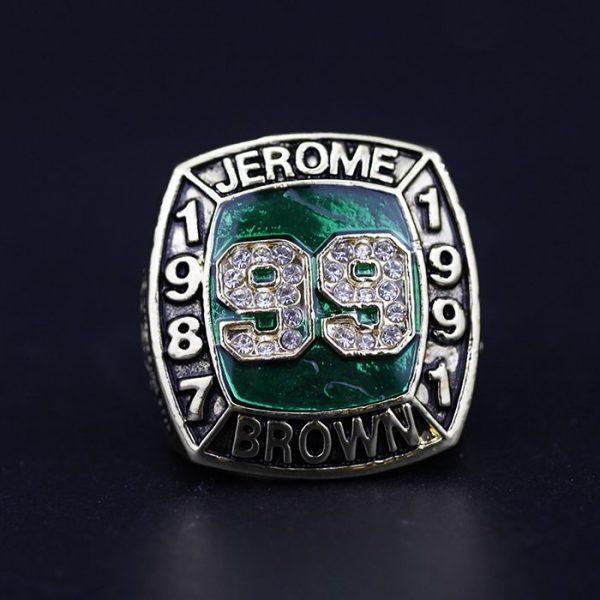 MLB Championship Ring Hall Of Fame Jerome Brown 1987-1991