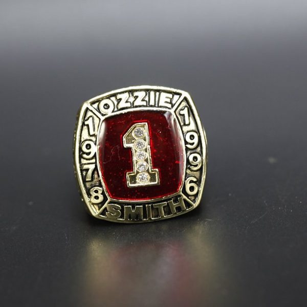 MLB Championship Ring Hall Of Fame Ozzie Smith 1978-1996