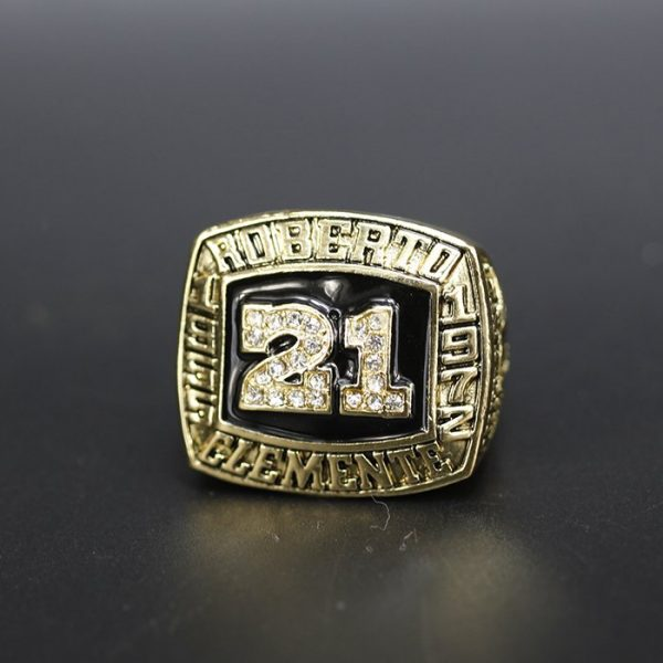 MLB Championship Ring Hall Of Fame Roberto Clemente 1955-1972