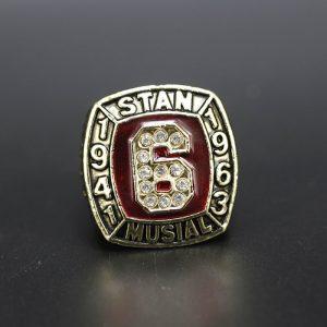 MLB Championship Ring Hall Of Fame Stan Musial 1943-1963