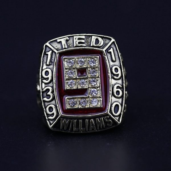 MLB Championship Ring Hall Of Fame Ted Williams 1939-1960