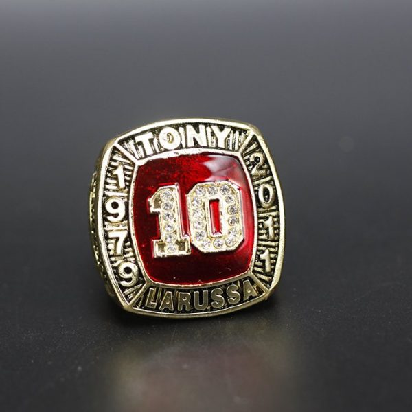 MLB Championship Ring Hall Of Fame Tony Larussa 1979-2011