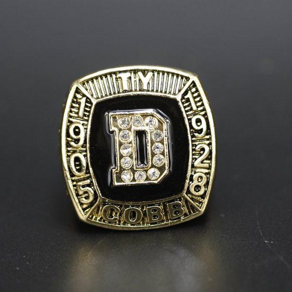 MLB Championship Ring Hall Of Fame TY Cobb 1905-1928