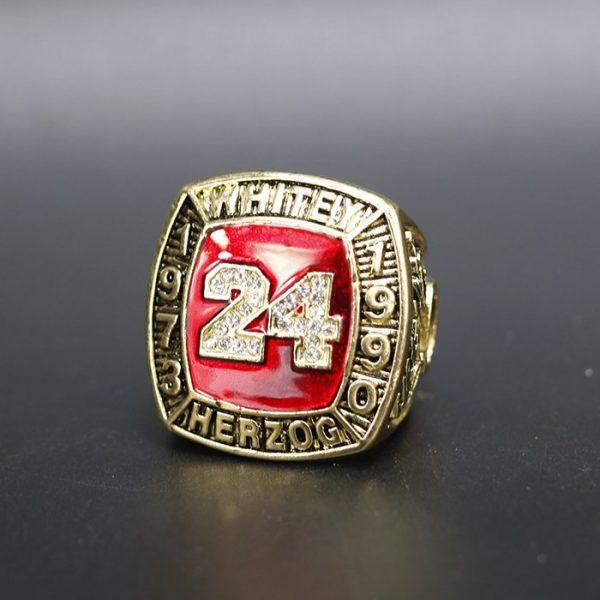 MLB Championship Ring Hall Of Fame Whitey Herzog 1973-1990